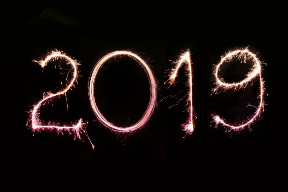2019 in light art